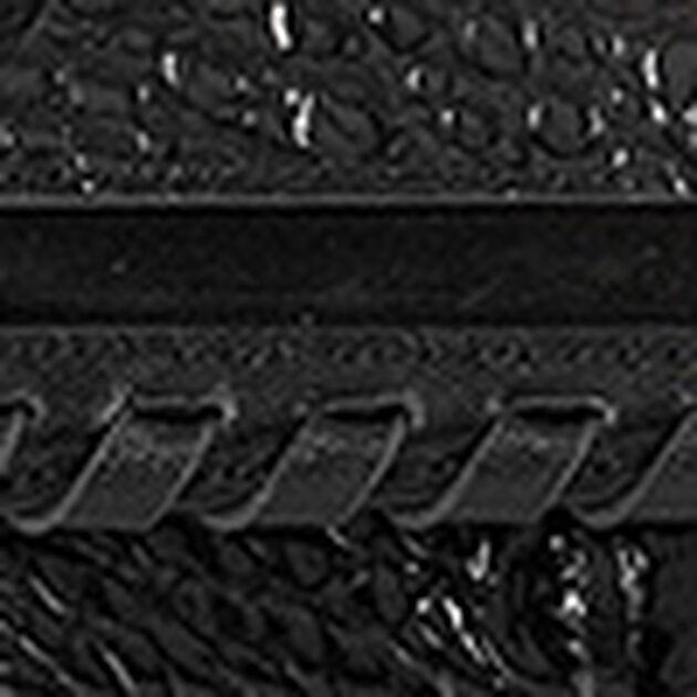 Soft Checkbook Wallet Black Wilde