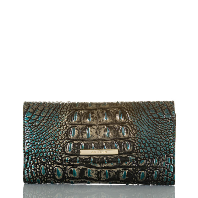 Modern Checkbook Wallet Agate Melbourne, Agate, hi-res