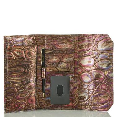 Soft Checkbook Wallet Multi Akita Interior