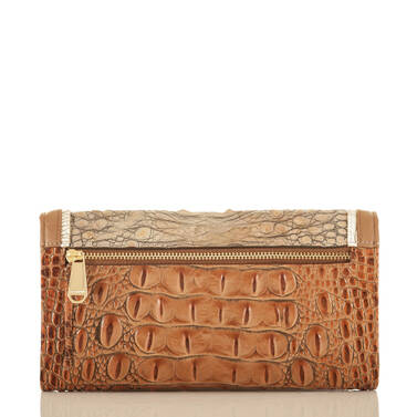 Soft Checkbook Wallet Riesling Tri-Texture Back