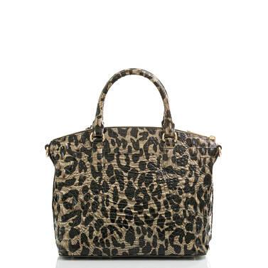 Duxbury Satchel Snow Leopard Melbourne Back