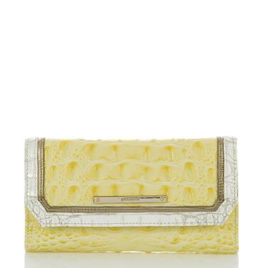 Soft Checkbook Wallet Dandelion Fairchild Front