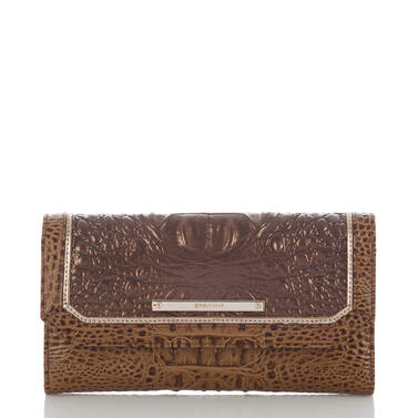 Soft Checkbook Wallet Patina Masolino Front