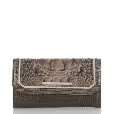 Soft Checkbook Wallet Elmwood Padua Front