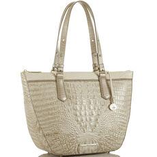 Willa Carryall Limestone Tri-Texture Front