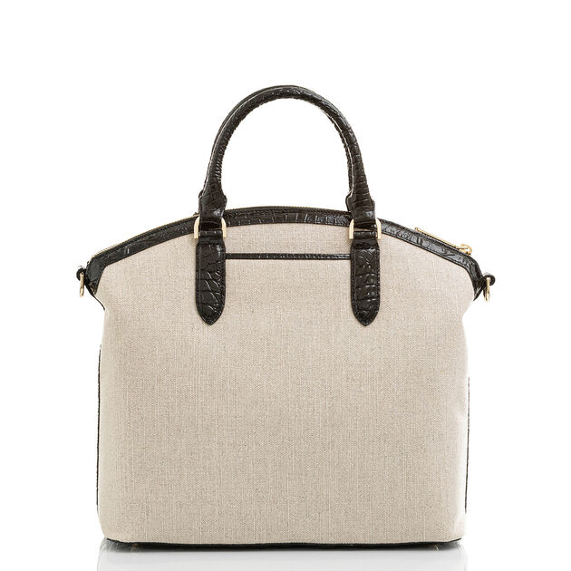 Large Duxbury Satchel Natural Cape