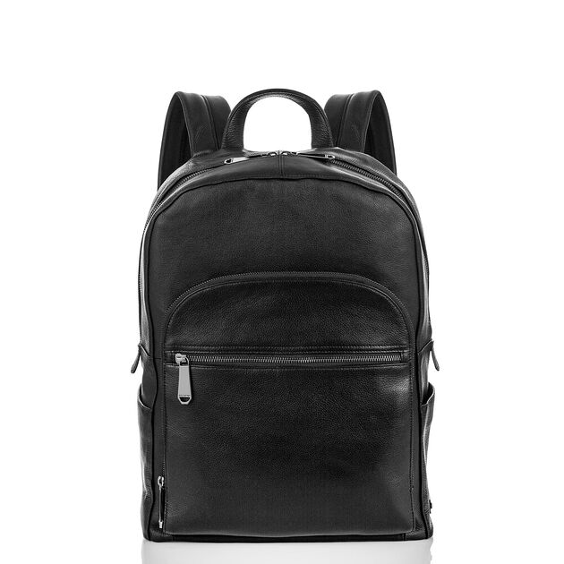 Brian Backpack Black Oakland, Black, hi-res