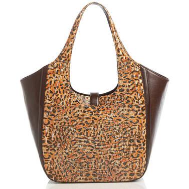 Carla Leopard Cub Bergamot Back