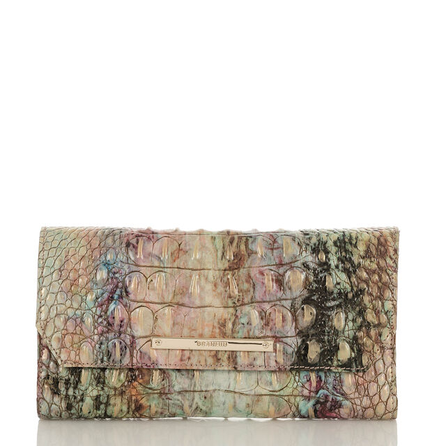 Soft Checkbook Wallet Opal Melbourne, Opal, hi-res