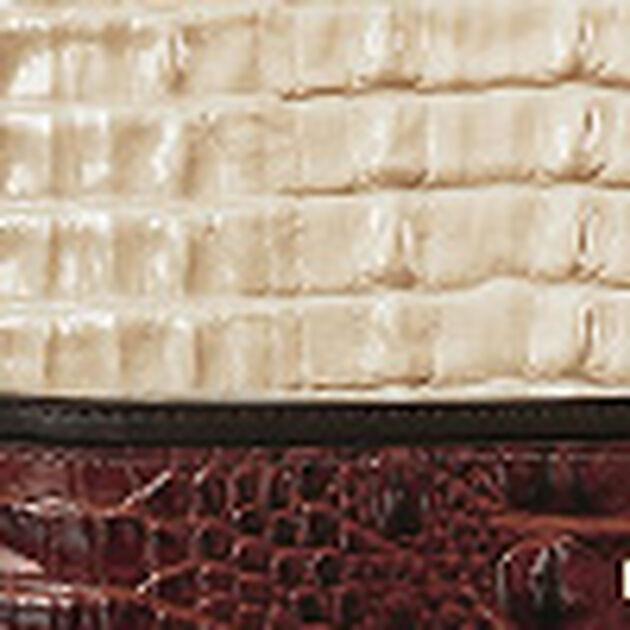 Modern Checkbook Wallet Latte Divino