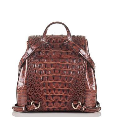 Margo Backpack Pecan Melbourne Back