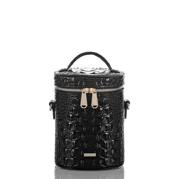 Brynn Barrel Bag Black Melbourne, Black, hi-res