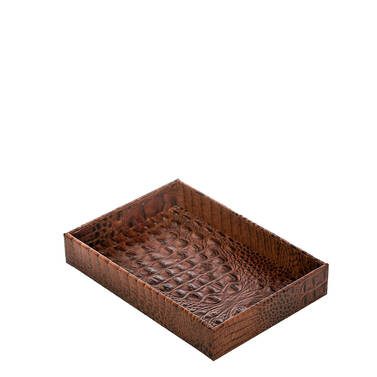 Small Trinket Tray Pecan Melbourne Front