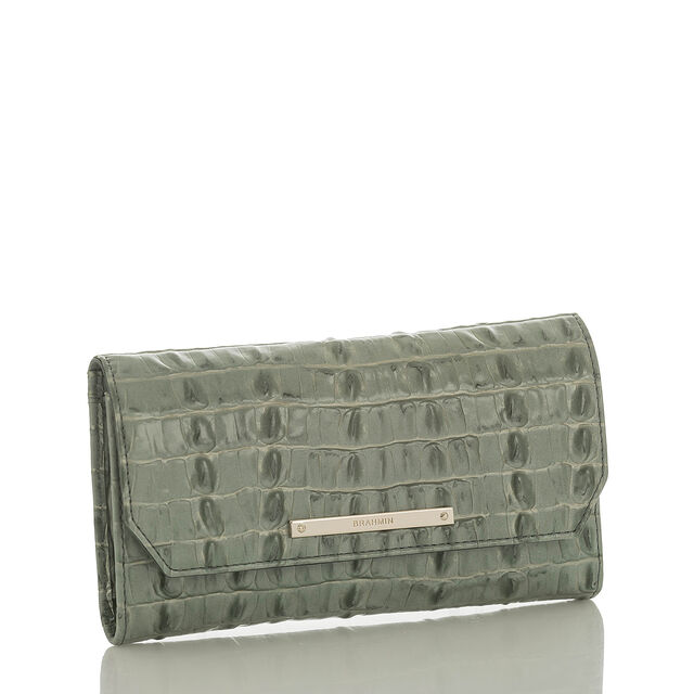 Soft Checkbook Wallet Ocean La Scala, Ocean, hi-res
