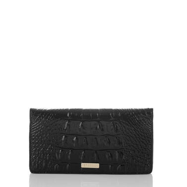 Simone Wallet Onyx Nordstrom Anniversary Front