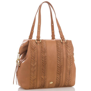 Delaney Tote Tan Knoxville Side