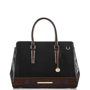 Finley Carryall Black Tuscan Tri-Texture Front