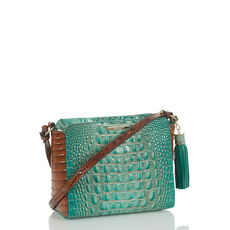 Carrie Crossbody Turquoise Paraty Front