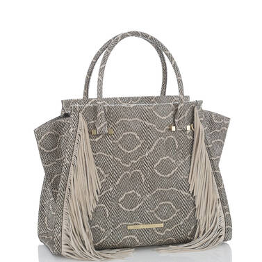 Priscilla Satchel Natural Longshore Side