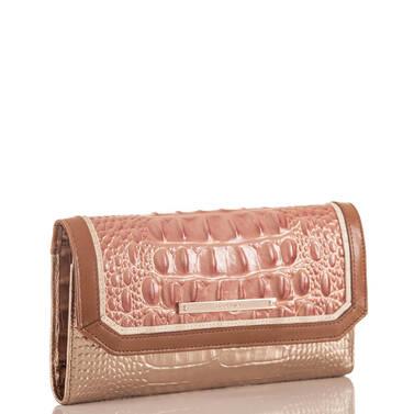 Soft Checkbook Wallet Sandshell Varadero Side