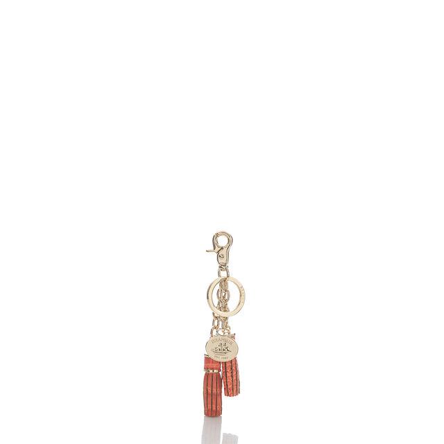 Tassel Key Ring Poppy Melbourne, Poppy, hi-res
