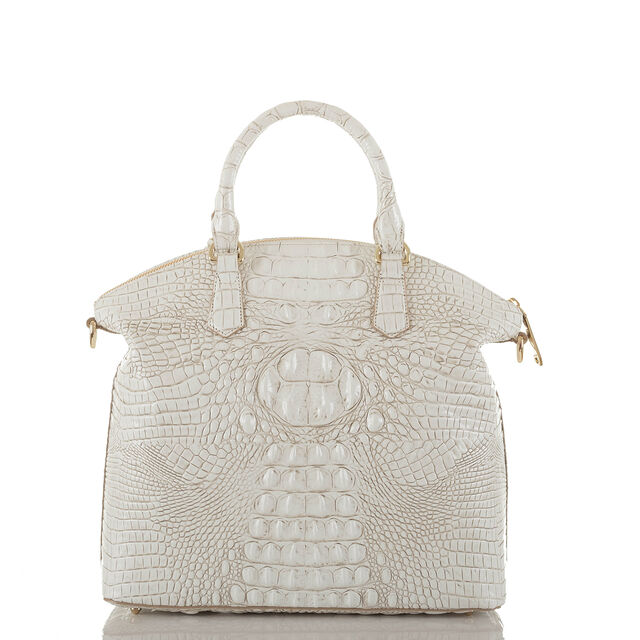 Large Duxbury Satchel Coconut Melbourne, Coconut, hi-res