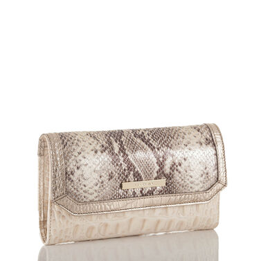 Soft Checkbook Wallet Sunglow Dakota Front