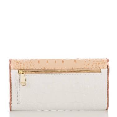 Soft Checkbook Wallet Apricot Crandon Back