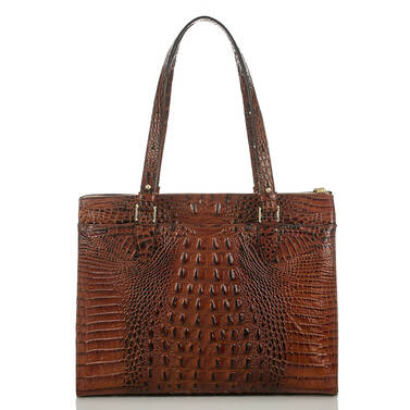 Anywhere Tote Pecan Melbourne Back