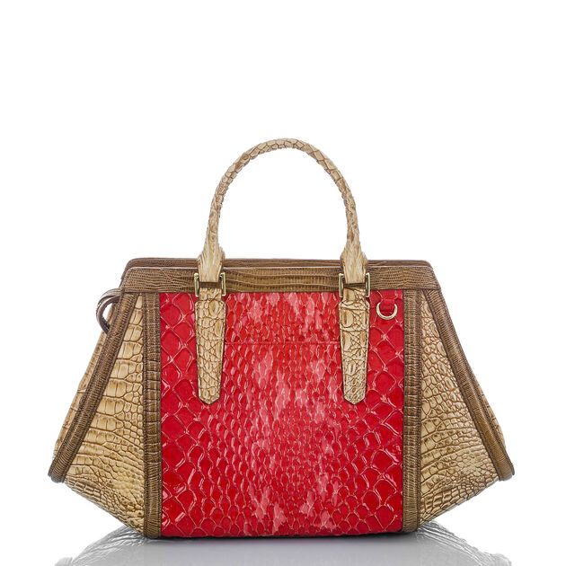 Arden Satchel Candy Apple Carlisle