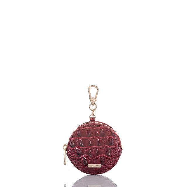 Circle Coin Purse Cranberry Melbourne, Cranberry, hi-res