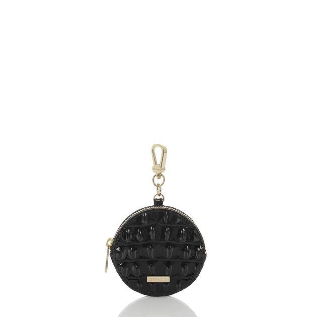 Circle Coin Purse Black Melbourne, Black, hi-res