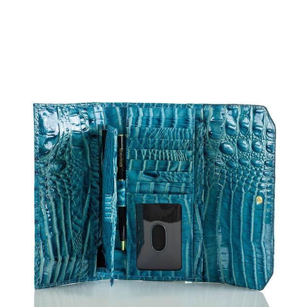 Soft Checkbook Wallet Lagoon Melbourne