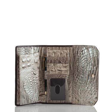 Soft Checkbook Wallet Hemlock Westwood Interior