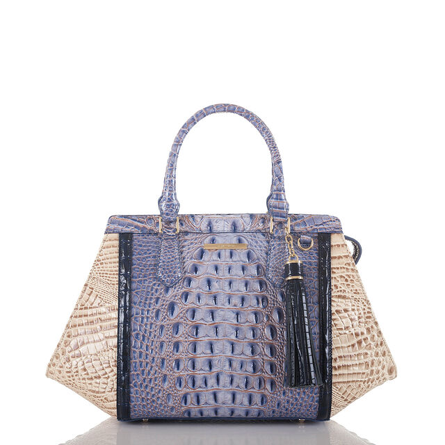 Arden Satchel Washed Indigo La Paz, Washed Indigo, hi-res