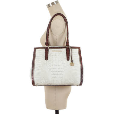 Alice Carryall Pearl Akoya on figure for scale