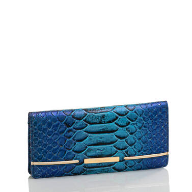 Ady Wallet Electric Blue Ateague Side
