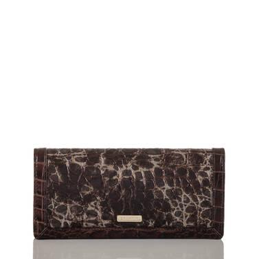 Ady Wallet Chestnut Beauvoir Front