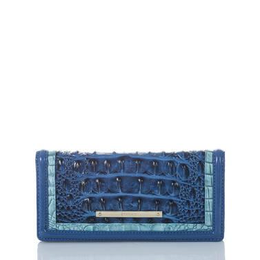 Ady Wallet Sapphire Argan Front