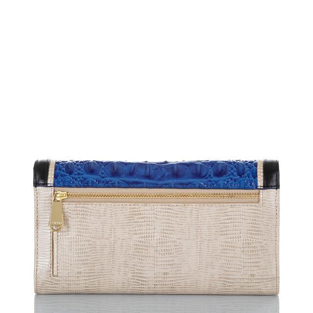 Soft Checkbook Wallet Cobalt Laverne, Cobalt, hi-res