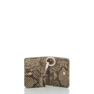 Mini Key Wallet Gold Sumatra Interior