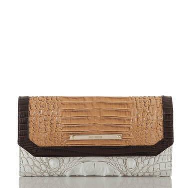 Soft Checkbook Wallet Coconut Kedima Front