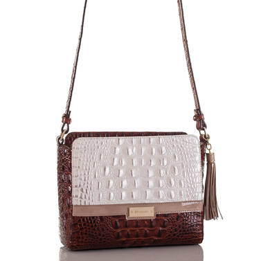 Carrie Crossbody Toasted Macaroon Durance Side