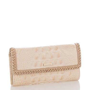 Soft Checkbook Wallet Sunglow Dalton Side