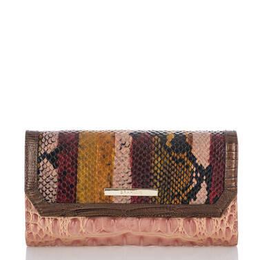 Soft Checkbook Wallet Multi Miramar Front