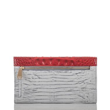 Soft Checkbook Wallet Bluestone Habanera Back