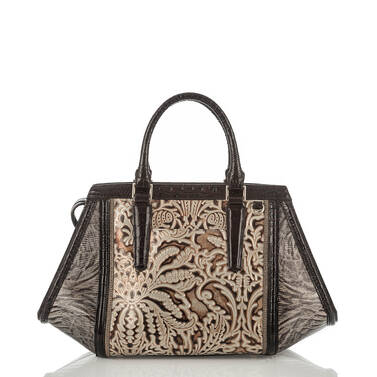 Arden Satchel Gold Bel Canto Back