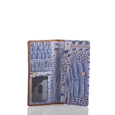 Ady Wallet Washed Indigo Ipanema Interior