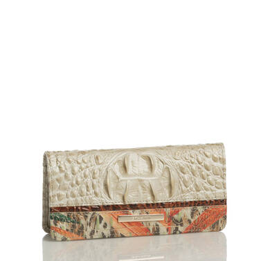 Ady Wallet Ivory Waveson Side