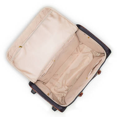 CarryOn Wheeled Duffle Black Travel Silhouette